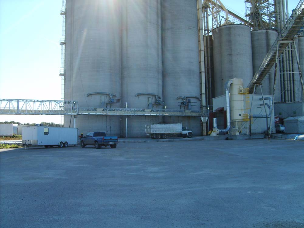 Albion Terminal Grain Elevator / Shuttle Train Loader